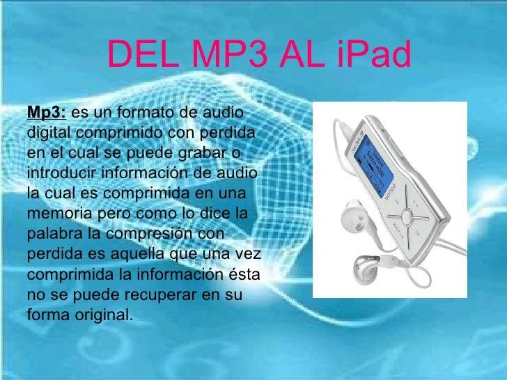 DEL MP3 AL IPAD