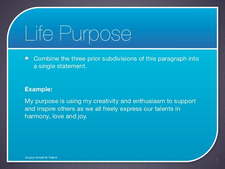 what is my purpose in life pdf
