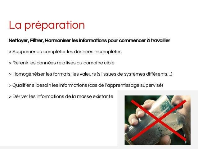 La préparation Nettoyer, Filtrer, Harmoniser les informations pour commencer à travailler > Supprimer ou compléter les don...