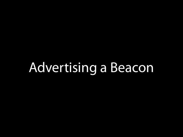 Monitoring Beacon Regions
