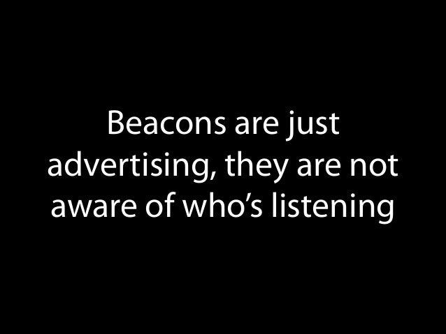 E. Beacon can do payments.