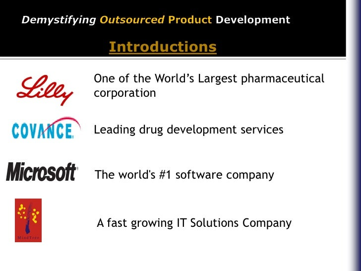 Demystifying outsourced product development for Product development corporation