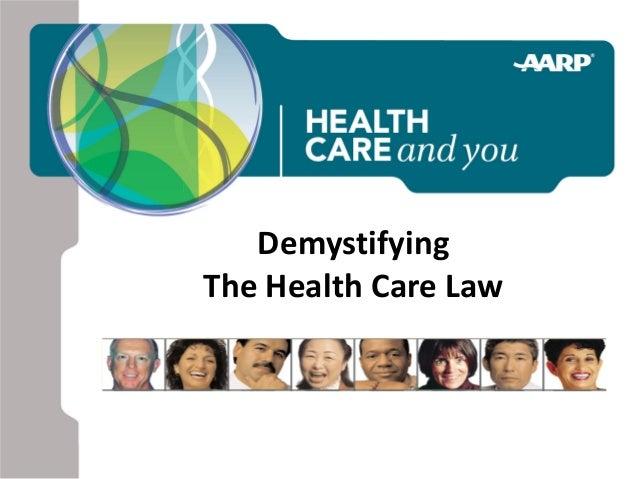 DemystifyingThe Health Care Law
