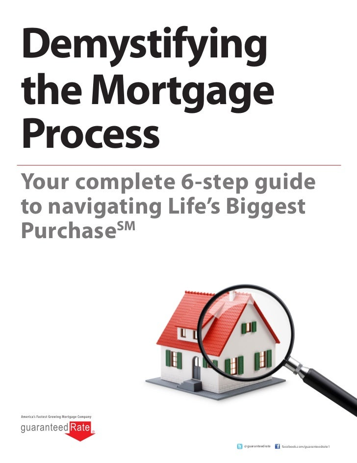 Demystifyingthe MortgageProcessYour complete 6-step guideto navigating Life's BiggestPurchaseSM                     @guara...