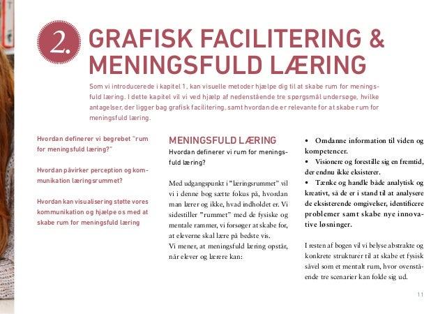 """11  MENINGSFULD LÆRING  Hvordan definerer vi rum for meningsfuld læring?  Med udgangspunkt i """"læringsrummet"""" vil vi i denn..."""