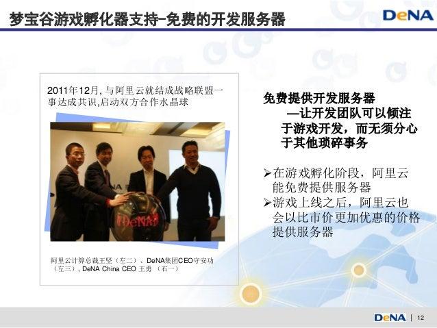梦宝谷游戏孵化器支持-免费的开发服务器  2011年12月, 与阿里云就结成战略联盟一  事达成共识,启动双方合作水晶球                免费提供开发服务器                                   —让...