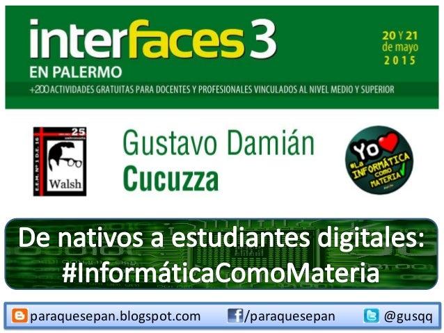 paraquesepan.blogspot.com @gusqq/paraquesepan