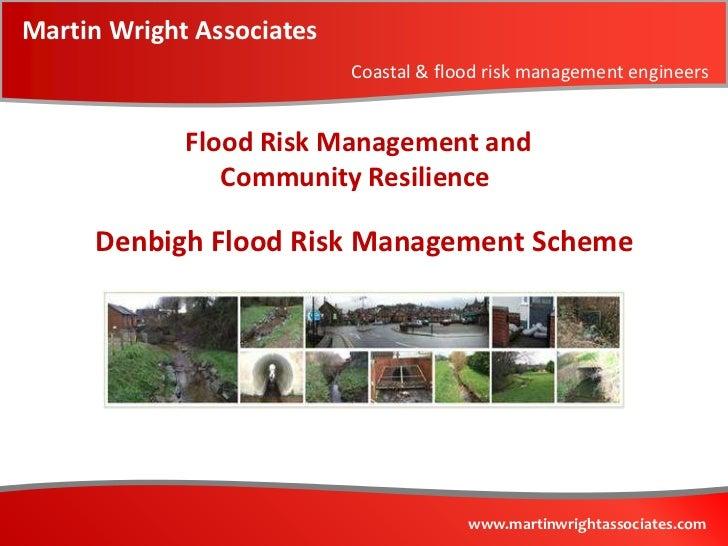 Martin Wright Associates                           Coastal & flood risk management engineers             Flood Risk Manage...