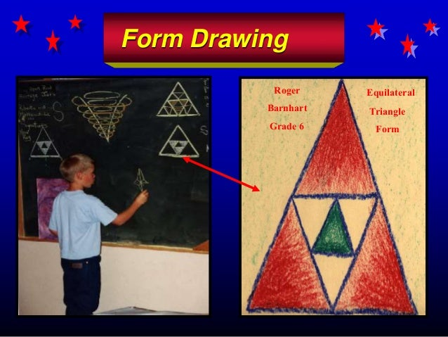 Form Drawing Roger Barnhart Grade 6 Equilateral Triangle Form