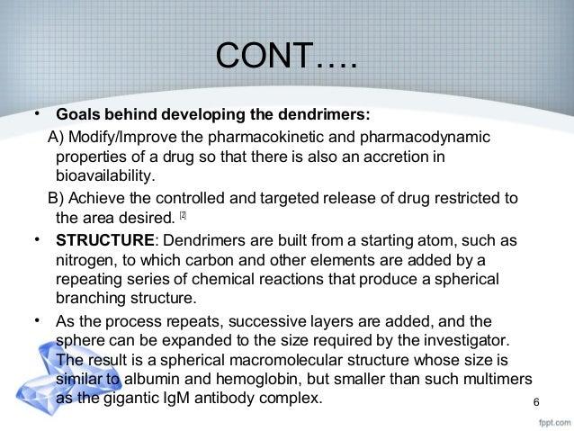 Dendrimers : A recent drug delivery system