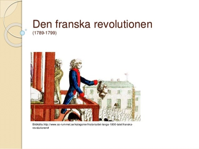 Den Franska Revolutionen Upplysningen Napoleon