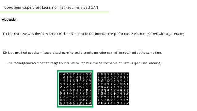Review of Good Semi-supervised Learning That Requires a Bad GAN