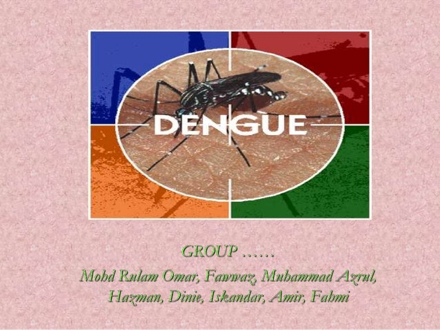 What is dengue fever? Dengue Fever is an illness caused byinfection with a virus transmitted by the            Aedes mosqu...