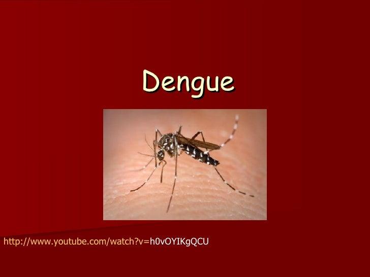 Denguehttp://www.youtube.com/watch?v=h0vOYIKgQCU