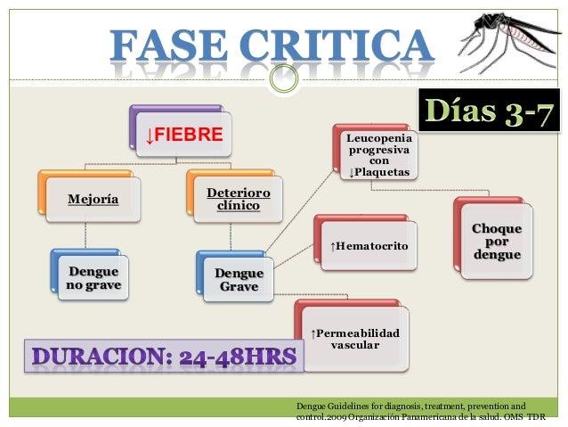 Muy sugestivo  Confirmado  Dengue Guidelines for diagnosis, treatment, prevention and control.2009. Organización Panameric...