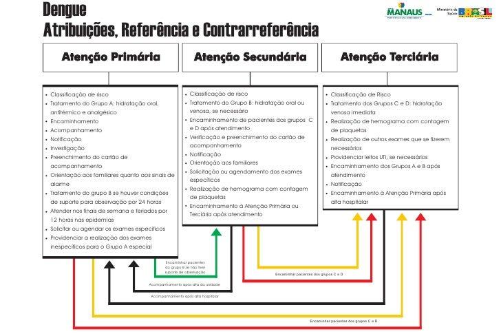DengueAtribuições, Referência e Contrarreferência Classificação de risco                                    Classificação ...