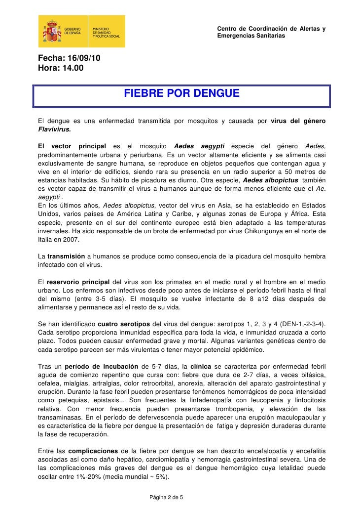 Dengue: situació a 16- 09- 2010 Slide 2