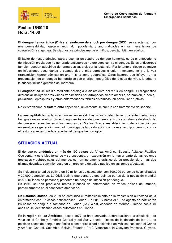 Dengue: situació a 16- 09- 2010 Slide 3