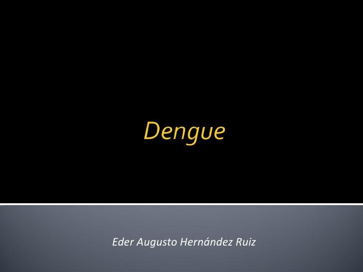 Eder Augusto Hernández Ruiz