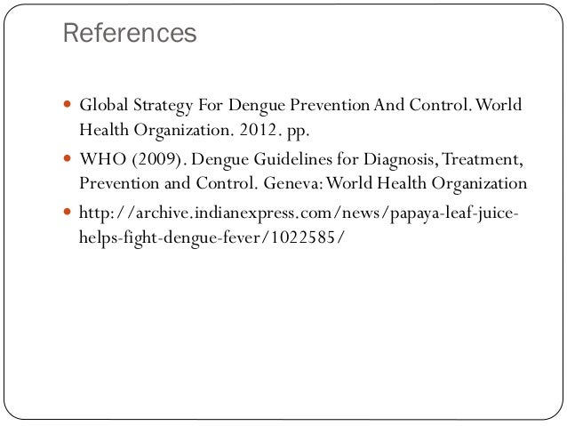 dengue guidelines for diagnosis treatment prevention and control geneva