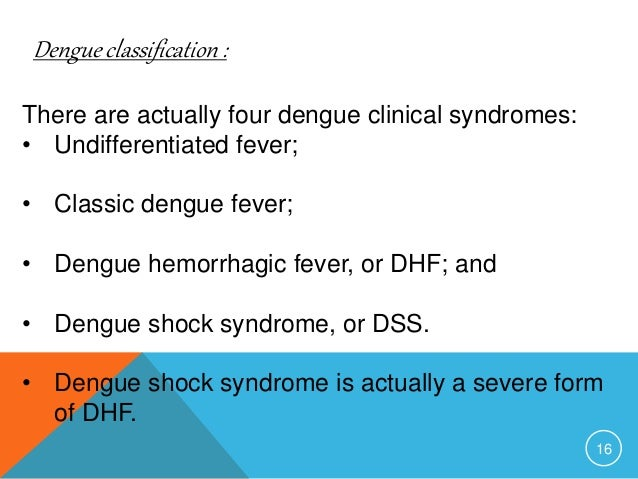 pediatric dengue shock syndrome Dengue hemorrhagic fever or dengue shock syndrome  clinical and laboratory predictive markers for  dengue virus pediatric patients are.