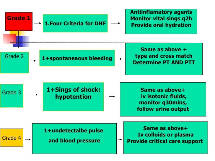 dengue hemorrhagic fever 2 Pathogenicity/toxicity: dengue virus infection can cause dengue fever, dengue hemorrhagic fever (dhf), and dengue shock syndrome (dss) footnote 1 clinical signs of dengue fever include.