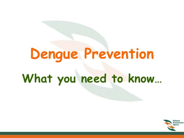 Dengue PreventionWhat you need to know…