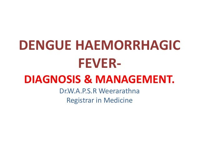 Viral Hemorrhagic Fever (Crimean-Congo, Ebola, Lassa, Marburg, Rift Valley, Yellow Fever)