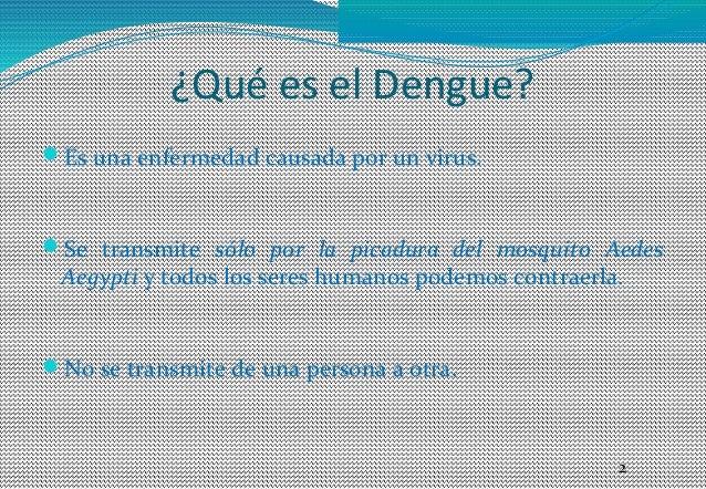 Dengue promoción de la salud Slide 2
