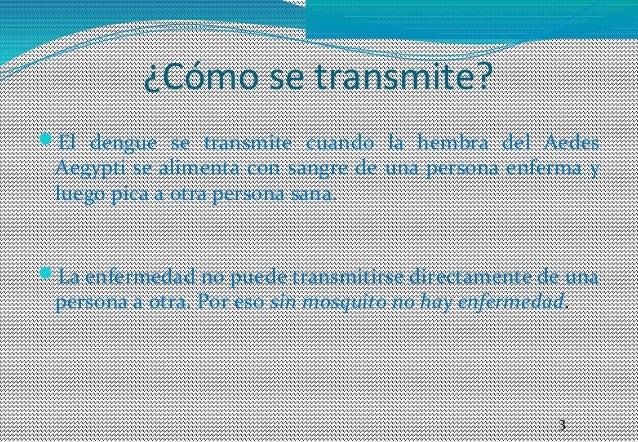 Dengue promoción de la salud Slide 3