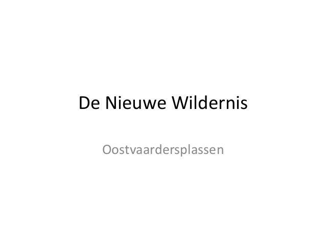 De Nieuwe Wildernis Oostvaardersplassen