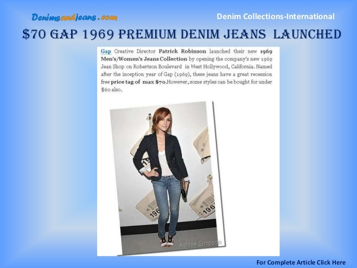 Denim Collection Articles