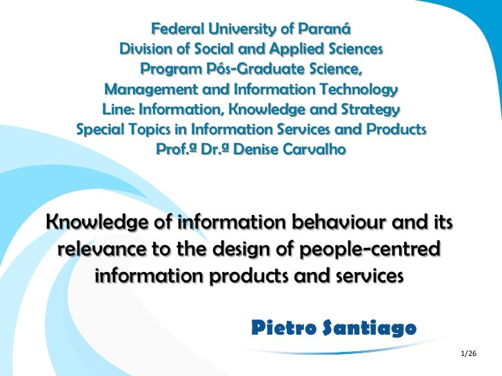 Federal University of Paraná         Division of Social and Applied Sciences            Program Pós-Graduate Science,     ...