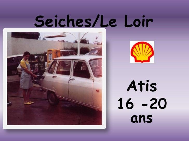 Seiches/Le Loir<br />Atis <br />16 -20 ans<br />