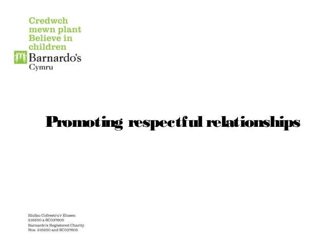 Promoting respectful relationships