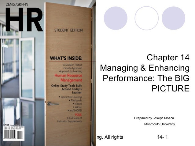Chapter 14                                     Managing & Enhancing                                     Performance: The B...