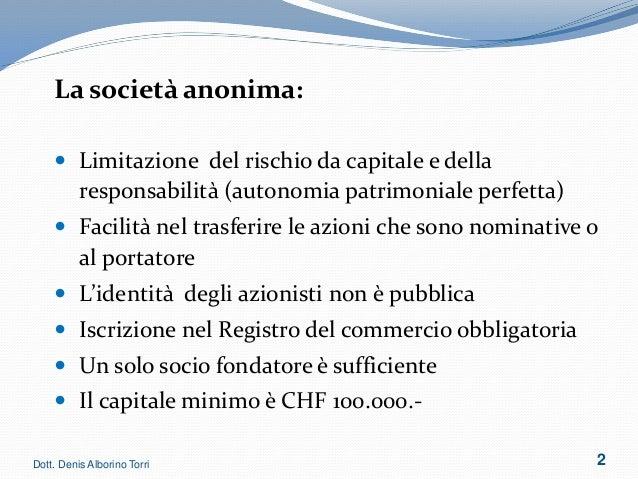 Denis Torri Alborino - Corso Formativo Slide 2