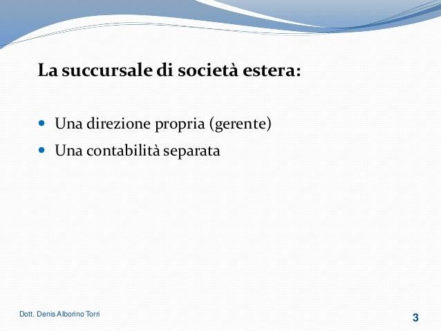 Denis Torri Alborino - Corso Formativo Slide 3