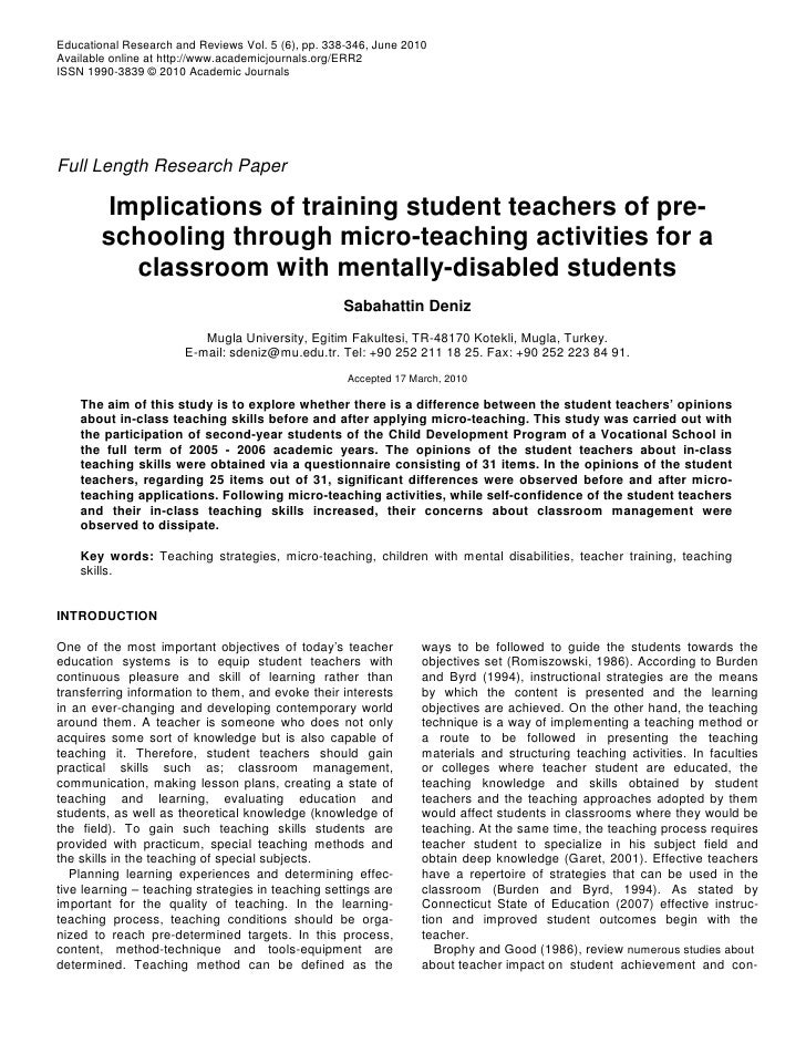 Educational Research and Reviews Vol. 5 (6), pp. 338-346, June 2010 Available online at http://www.academicjournals.org/ER...