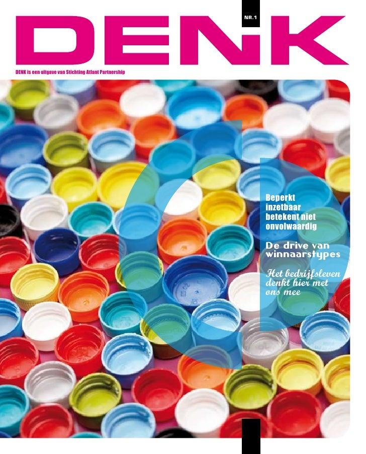 NR.1     DENK is een uitgave van Stichting Atlant Partnership                                                             ...