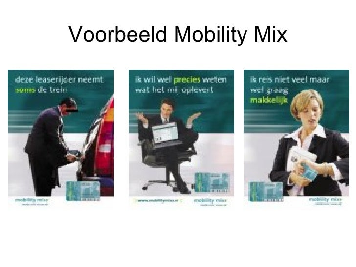 Voorbeeld Mobility Mix