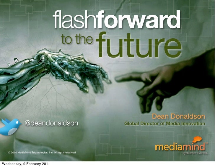 flashforward                                              to the                                                          ...