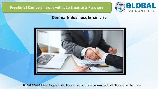 Denmark business email list