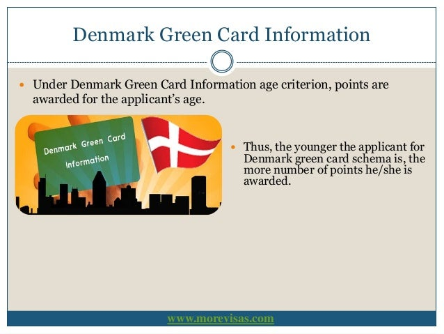 Denmark Green Card Scheme - Eligibility and Requirements