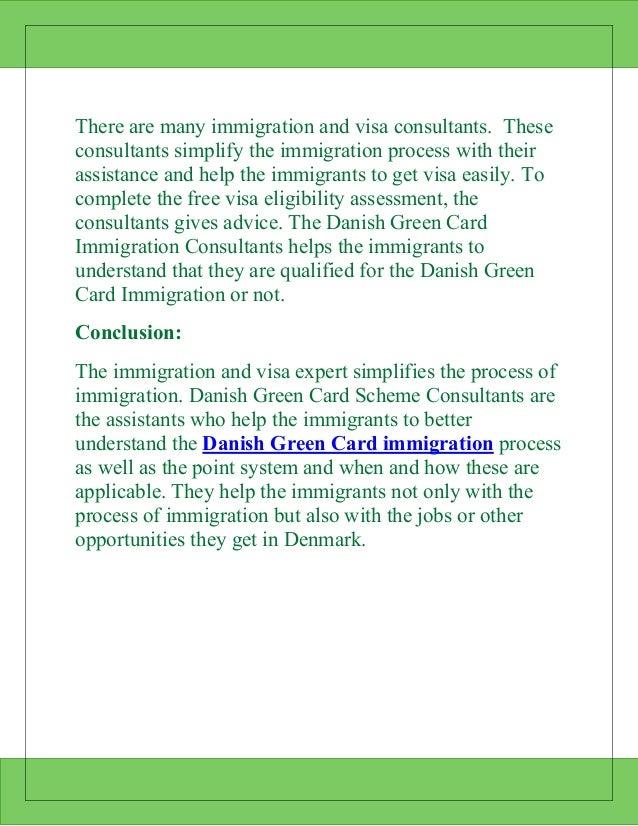 Denmark green card scheme consultants