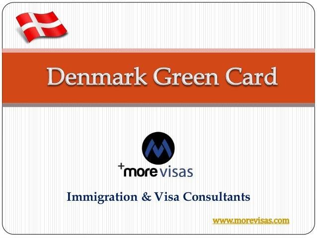 Denmark Green Card Scheme - Morevisas