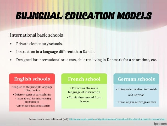 Denmark presentation bilingual education models internationalbasicschools toneelgroepblik Image collections