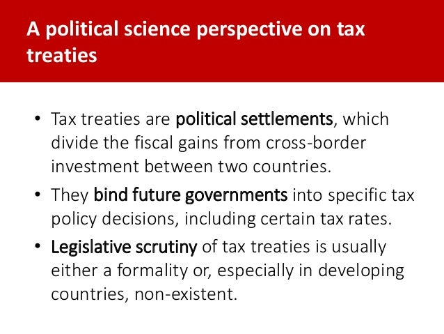 Trends in the conclusion of tax treaties by developing countries Slide 3