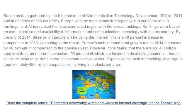 Tanaza Blog - Wired and wireless Internet in Denmark - Guest Wi-Fi access in Denmark Slide 3