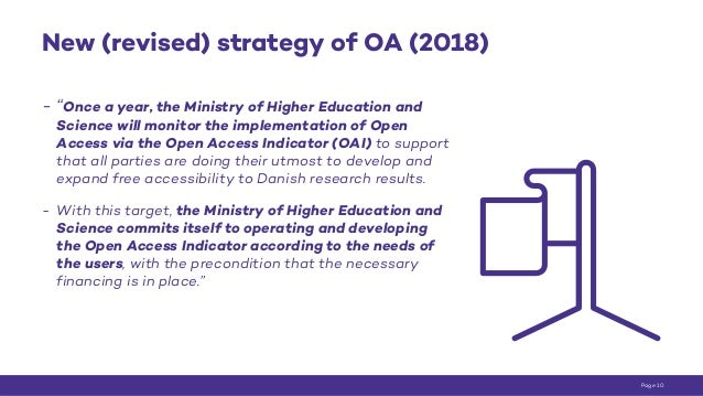 """New (revised) strategy of OA (2018) - """"Once a year, the Ministry of Higher Education and Science will monitor the implemen..."""